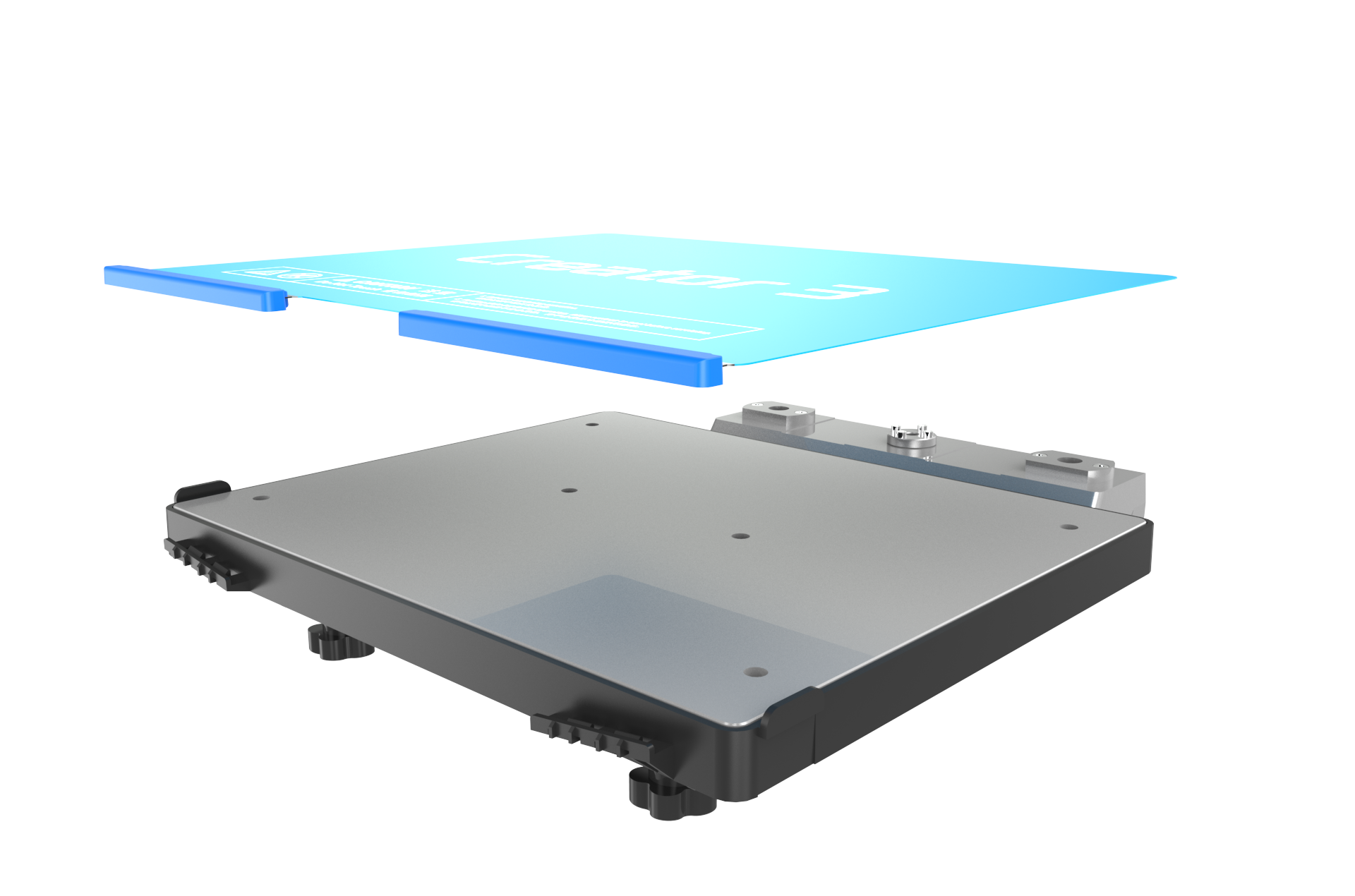 Removable build plate
