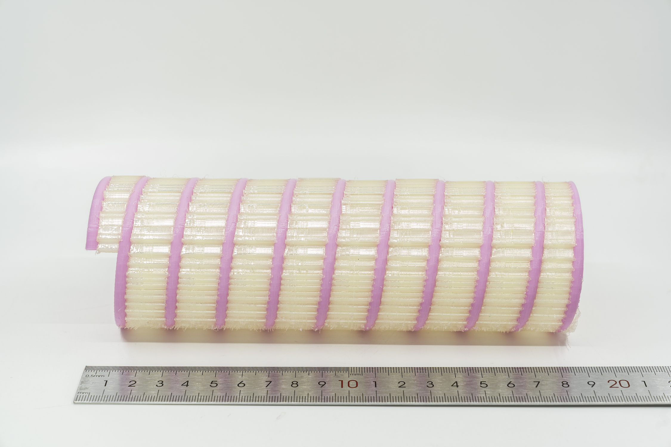 PLA part with PVA support material
