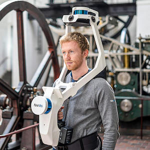 NavVis VLX wearable lidar 3D scanner