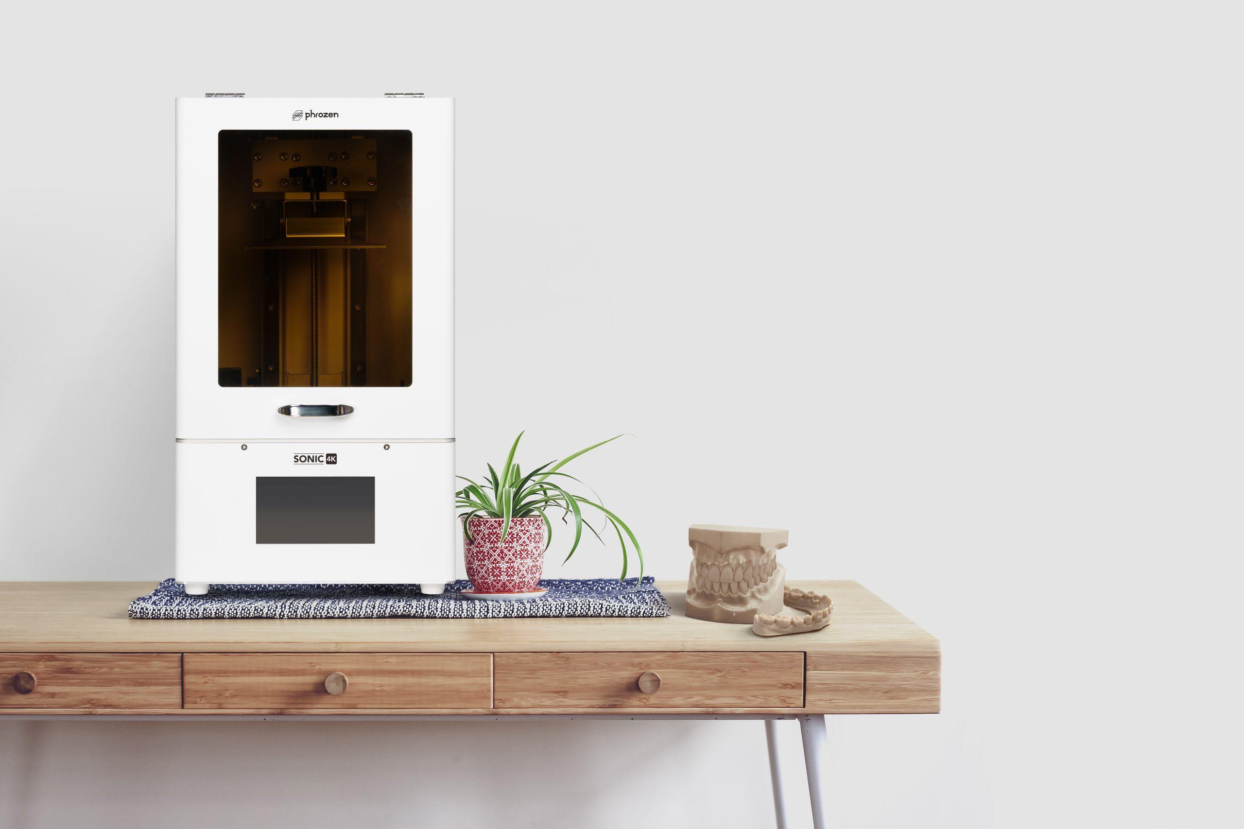 Phrozen Sonic 4K resin 3D printer for dentists
