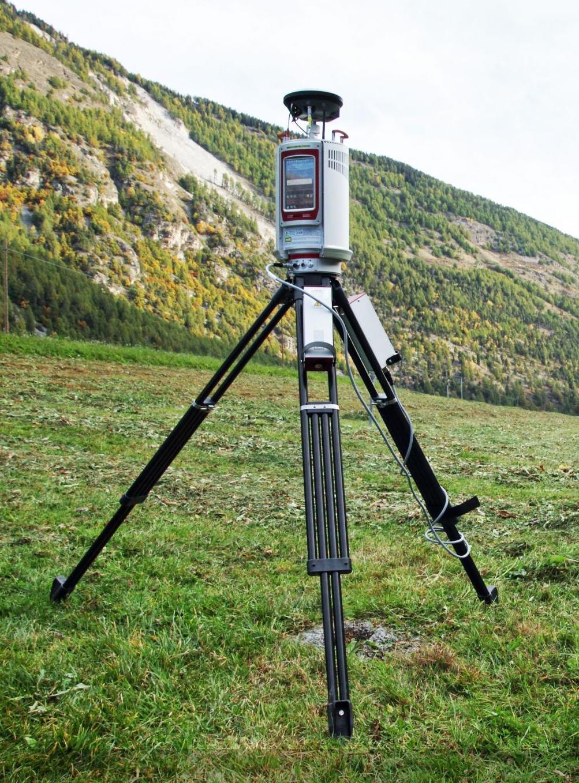 A terrestrial laser scanner