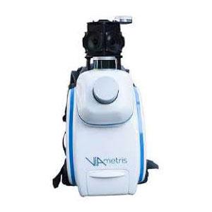 Viametris bMS3D LD5+ lidar scanner backpack