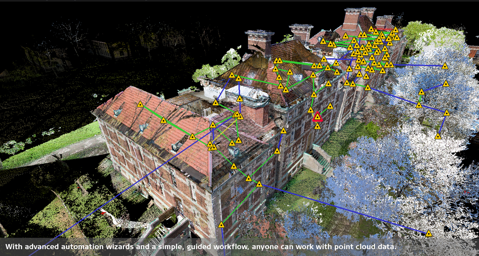 Point cloud registration Leica