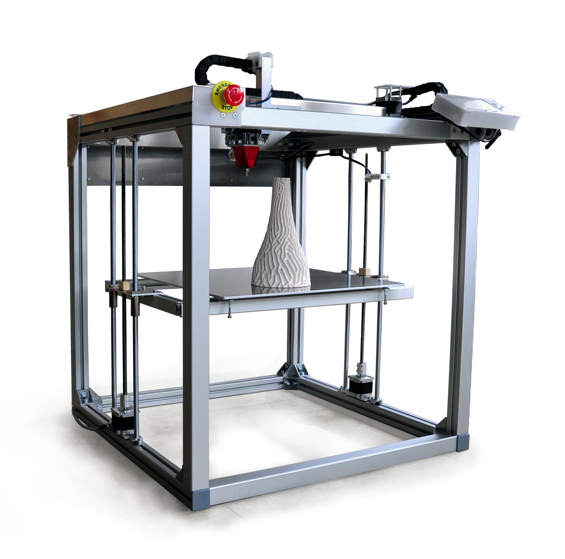 StoneFlower 3.1 multimaterial ceramic 3d printer