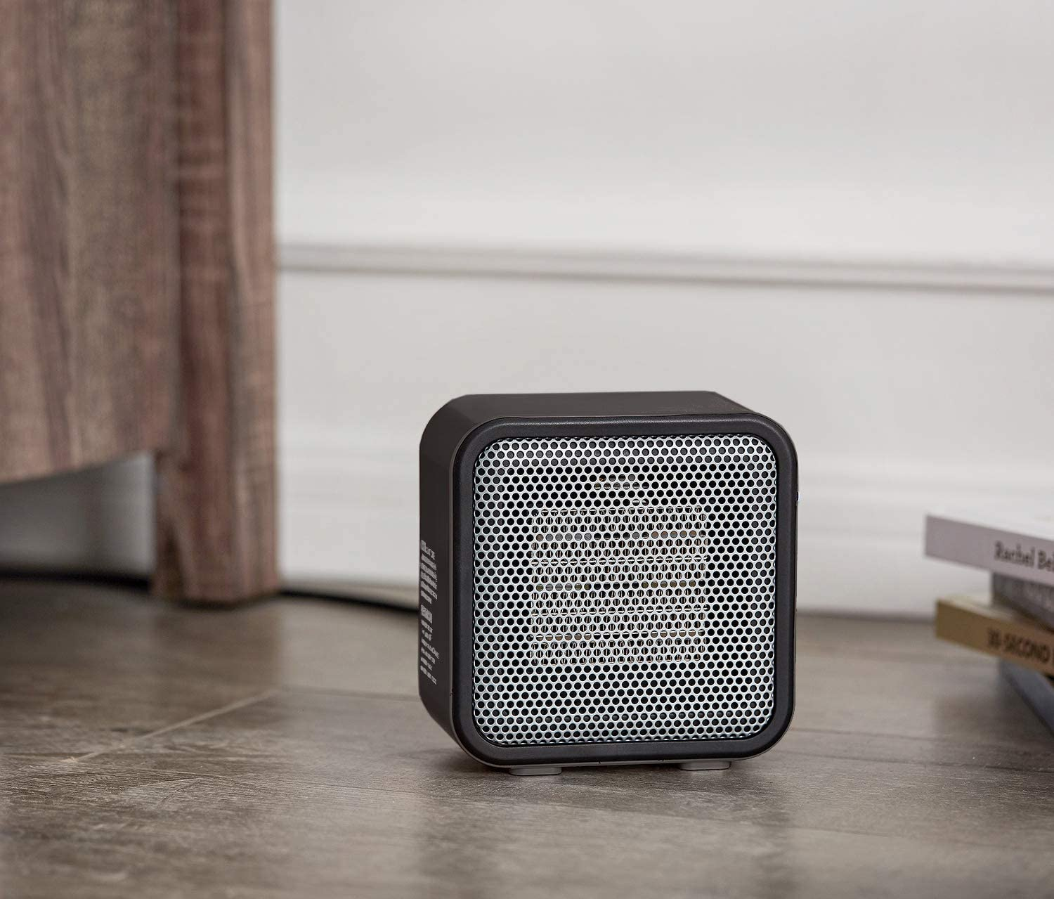 A mini electric heater from Amazon