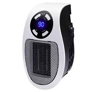 GiveBest Programmable Space Heater wall outlet