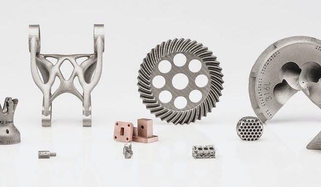 Xometry ExOne metal binder jet 3D printing