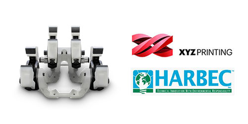 Case study: XYZprinting's SLS technology used for EoAT