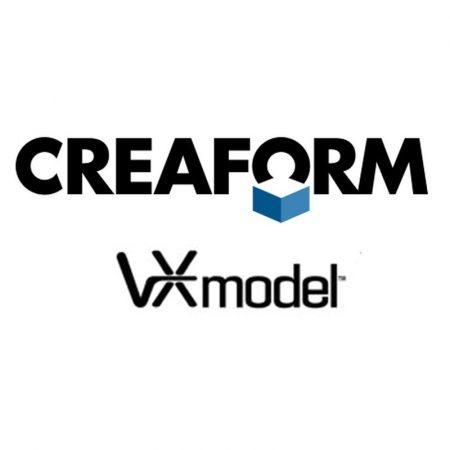 VXmodel Creaform - 3D file preparation
